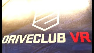 Classic Game Room - DRIVECLUB VR review for PlayStation 4