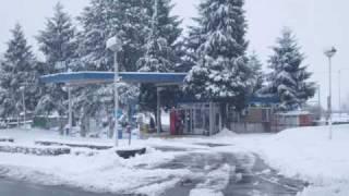 Veliki Zdenci pod snijegom - Zima 2010.