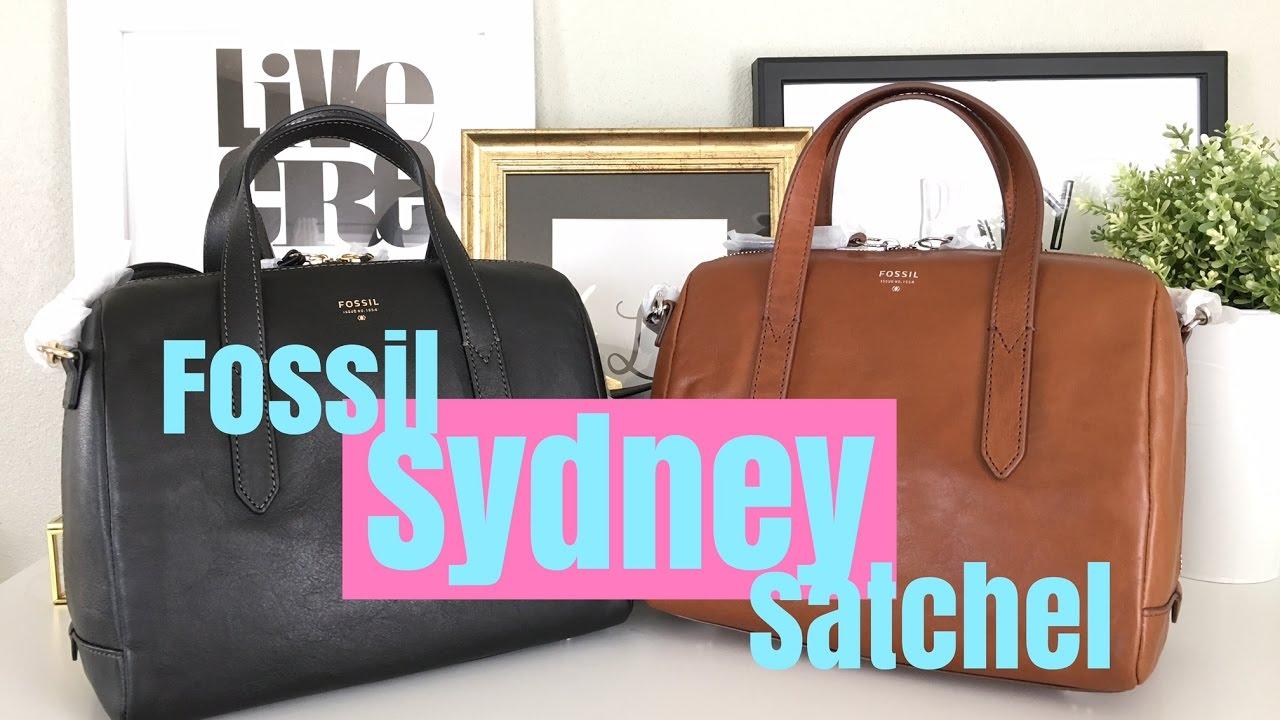 Fossil Sydney Satchel Unboxing April 2017