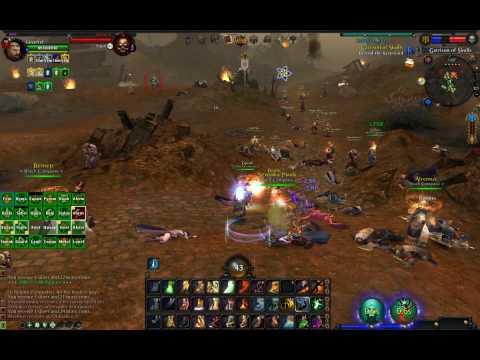 Warhammer Online gameplay PvP RvR - Black Company - keep defence - Part 1 - 2009-10-21