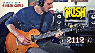 '2112 Overture' Rush GUITAR COVER - Rocco Saviano/Guitars