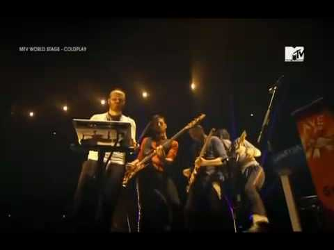 Coldplay - God Put A Smile Upon Your Face/ Talk (Techno Version Live From MTV Tokyo 2009)