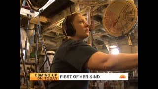 TODAY Show: Woman Makes History on Historic Fireboat