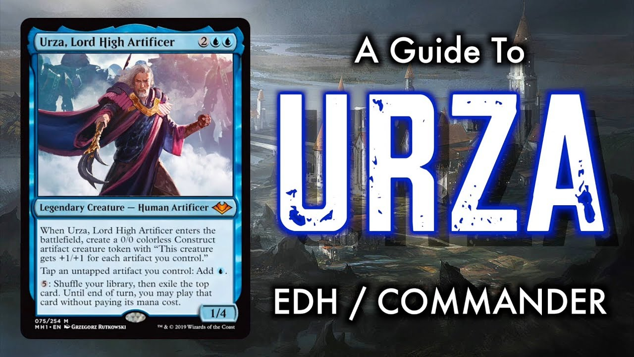 A Guide To Urza, Lord High Artificer Commander / EDH for Magic: The  Gathering