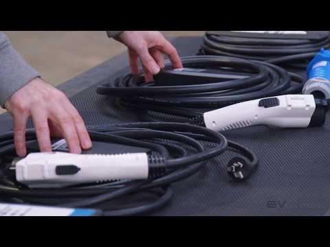 EVolution Range of Portable EV Electric Car Chargers EVSE