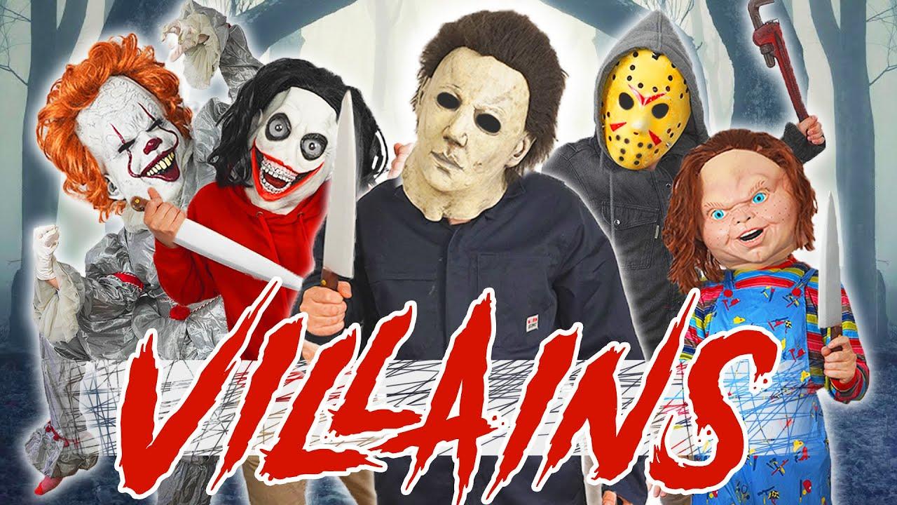 Horror Villains Escape - Parkour POV (Michael Myers, Jason, Pennywise, Chucky, Ghostface, Jeff...)