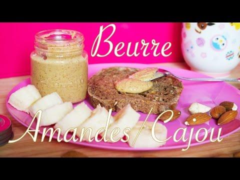 beurre-d'amandes-et-noix-de-cajou-facile