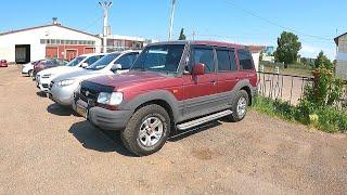 1998 Hyundai Galloper 3.0L V6 (141) РАМА И Честный Внедорожник!  ТЕСТ И Обзор.