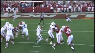 Manziel's Amazing TD Against Alabama