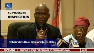 Fashola Appeals To Ambode On Recovery Of Right Of Way