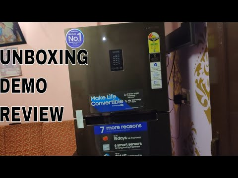 Samsung CURD MAESTRO Refrigerator Unboxing,Demo,Review
