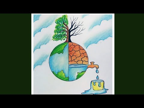 Save Water Save Nature Drawing From Drawing Competition