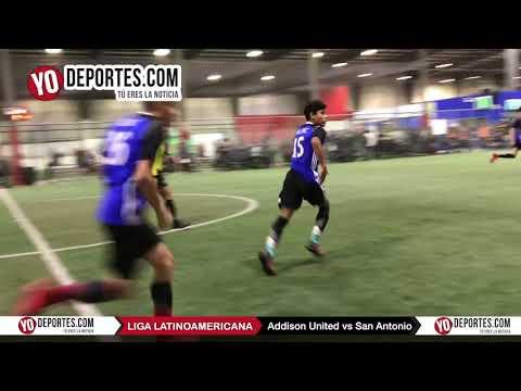 Addison United Vs. San Antonio Black Champions Kids Liga Latinoamericana
