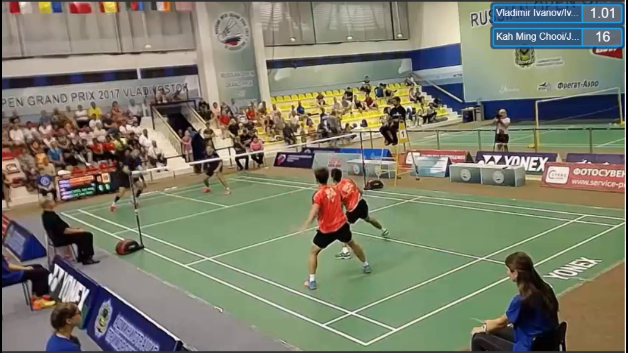 Finals Badminton Russian Open 2017 Vladimir Ivanov Ivan Sozonov