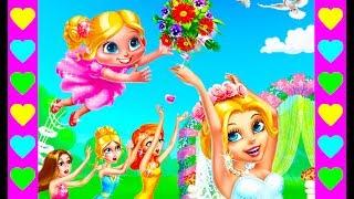 Мультик про свадьбу сестры. Делаем сами свадебный букет. Интересный детский мультфильм.