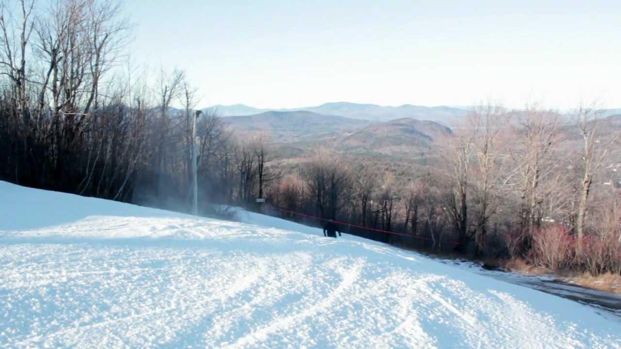 mt. abram ski area - video of the week - dec. 29, 2011 - maine