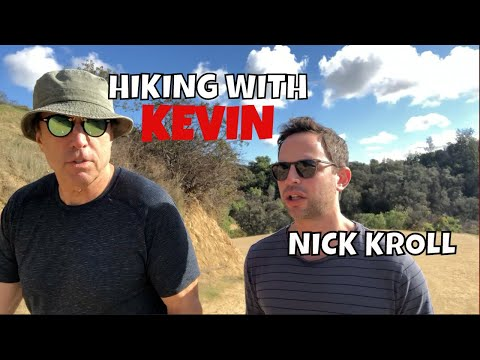 HIKING WITH KEVIN  NICK KROLL   PT 1