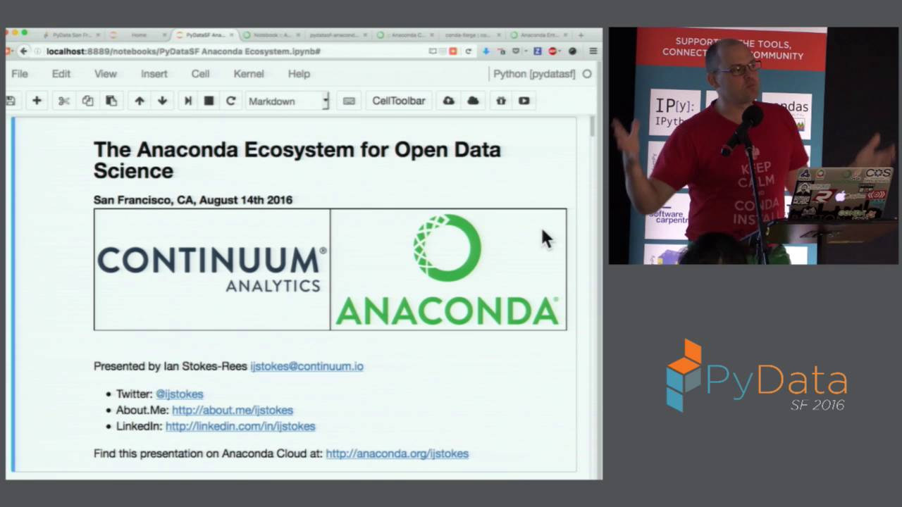 Image from Anaconda Ecosystem for Open Data Science