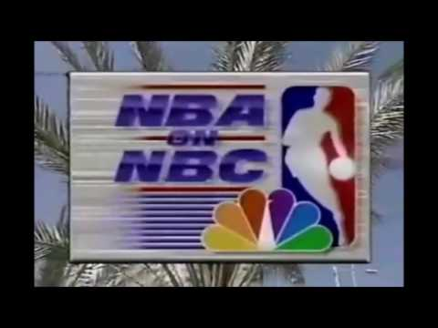 NBA on NBC Intro - 1995 - Orlando Magic vs. Miami Heat