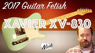 2017 Xavier XV-830 - A Quality $189 Telecaster Copy from GFS