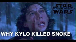 Why Kylo Ren killed Snoke in The Last Jedi - The Rise of Skywalker Theory