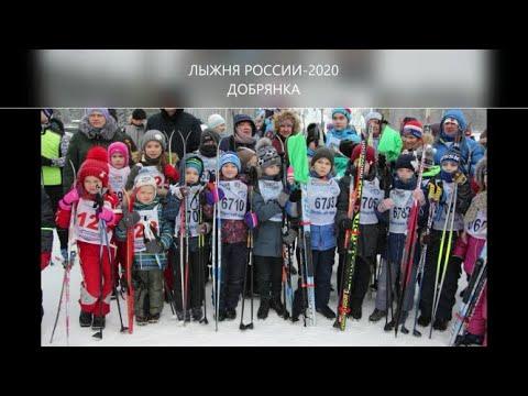 Лыжня России-2020  в г.Добрянка