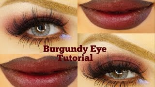 Dark Burgundy Smoky eyes Makeup by Ani Thumbnail