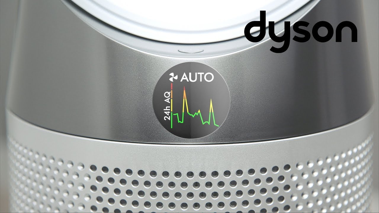 Dyson Pure Cool tower purifying fans - Understanding the LCD screen (US)