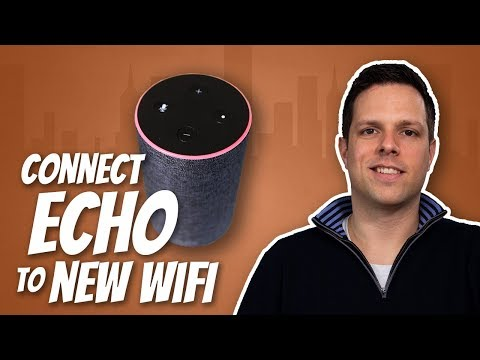 How to connect your Amazon Echo to a different wireless router