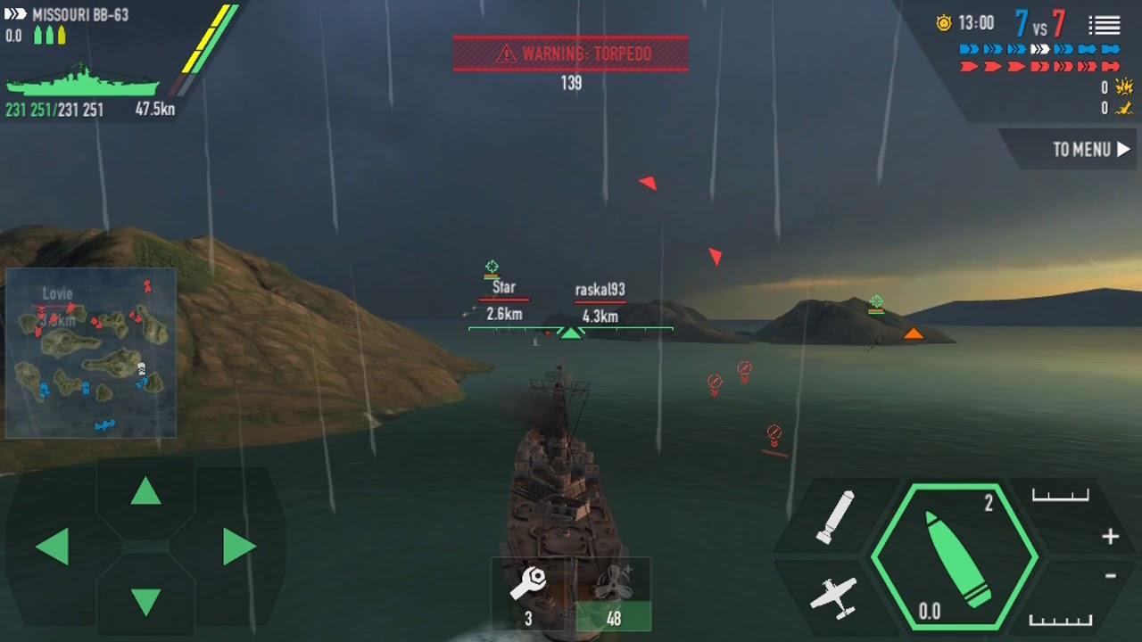 Battle Of Warship - USS Missouri (The Mighty Mo) Gameplay