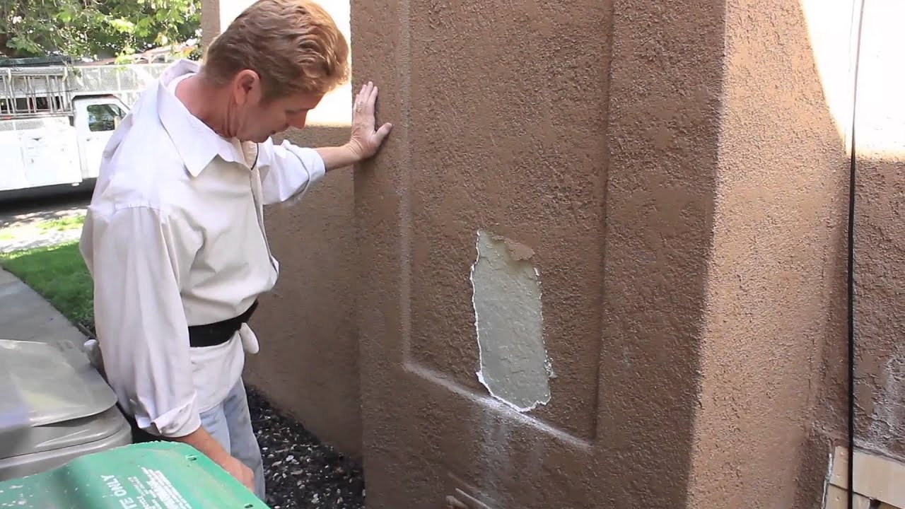 How to patch stucco cracks - Exploring Peeling Stucco Can T Fix Unless You Know What Wrong Youtube