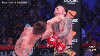 UFC Fighters react to Ricky Bandejas brutal KO of James Gallagher at Bellator 204