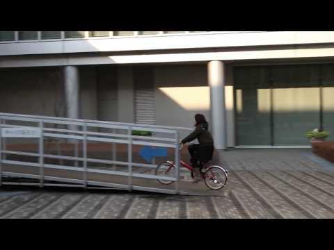 Jコンセプトの電動アシスト自転車で走行 Youtube