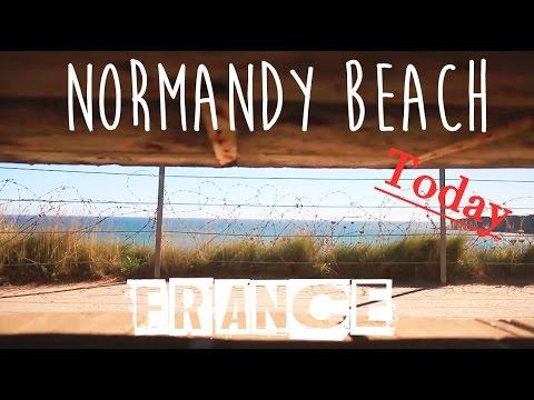 Normandy Beach - France - VLOG #36