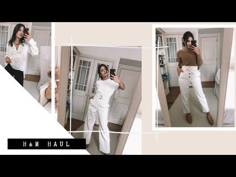 HUGE H&M HAUL + TRY ON // FEBRUARY 2019 | MIA ROSE