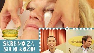 Kako se problemov s suho kožo lotiti po TKM? Yao Junhao, Miha Virant, Lili Yao