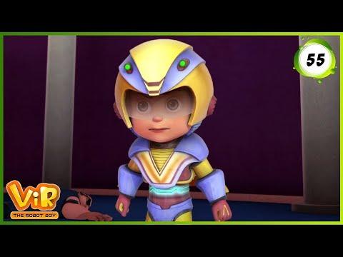Vir: The Robot Boy | Gold Thief Alien | Action cartoons for Kids | 3D cartoons