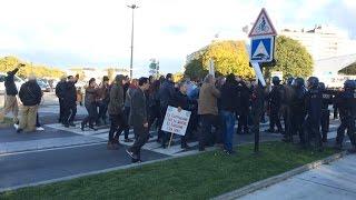 Manifestation contre le gouvernement turc