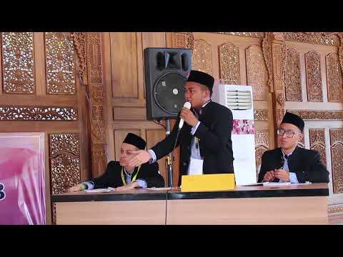 Pon Pes Dalwa, Darullughah Wadda'wah (Kanan Video) Juara 1 Debat bahasa Arab MQK Jepara Part 2