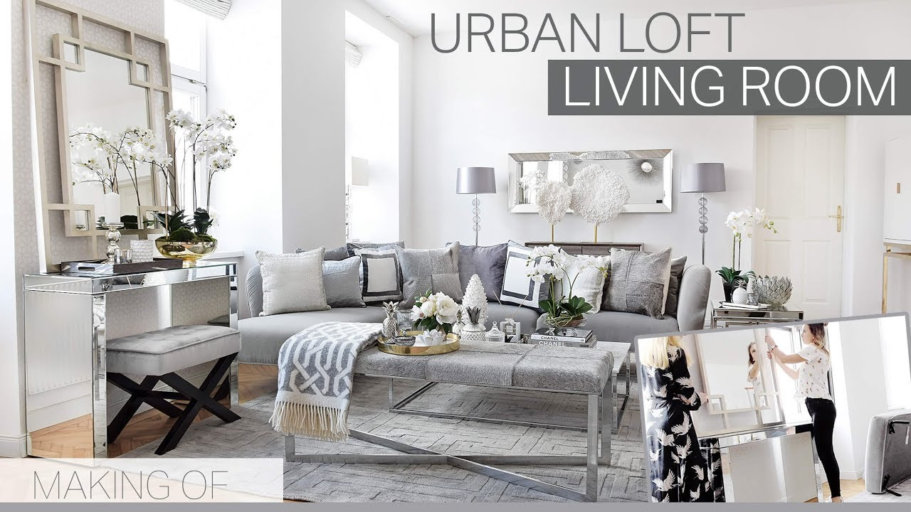making of urban loft living room i wohnzimmer look i pure velvet interior