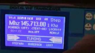 m0xpds Shack Nasties: Arduino QRP Transceiver