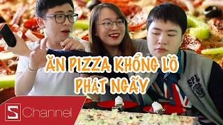 HÔM NAY ĂN GÌ - Pizza SIÊU KHỔNG LỒ, ăn hết được thưởng 5 TRIỆU