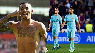 BảnBản tin BongDa ngày 14/5 | Barca đứt mạch bất bại, Man City lập hàng loạt kỷ lục