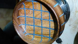 Woodturning Resin and Wood - Black Mesquite