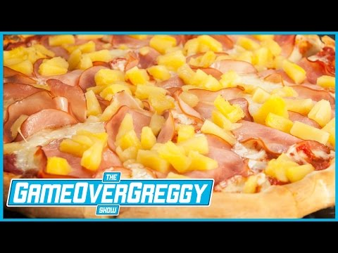 Does Pineapple Belong On Pizza? - The GameOverGreggy Show Ep. 176 (Pt. 4)