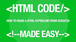 Web Design Tutorial: How to Make a HTML Text Link