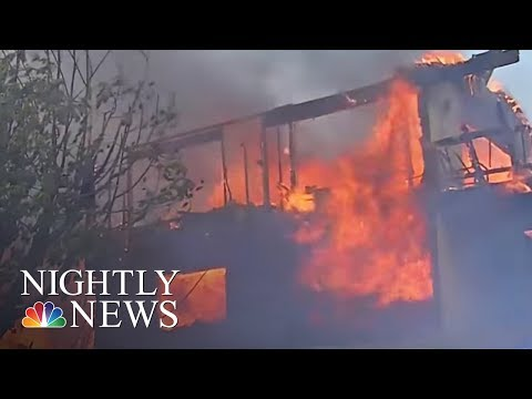 Massive L.A. Wildfire Grows As Governor Declares State of Emergency | NBC Nightly News