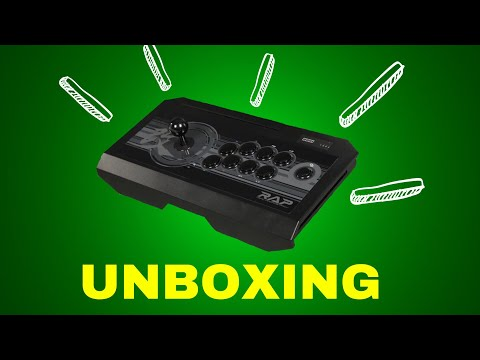 Hori Real Arcade Pro V Kai Xbox one / 360 / Pc Fight Stick Unboxing and First Impressions!