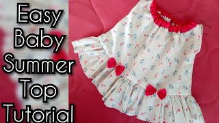 How to Cutting and Stitching New Born Baby Dress by kushi maqbool