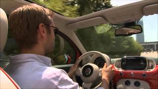 Fiat 500 Convertible (2015) Test Drive - Carzone